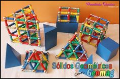 Geomag and Geometric Solids Extension Work