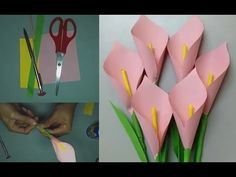 How To Make Paper Flowers - Very Easy - Youtube-Hd - YouTube