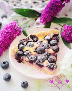 Norwegische Blaubeer Tarte - blåbær kake