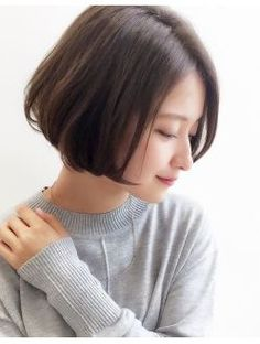 アトレーヴ(atreve) ☆atreve表参道☆ グレージュで艶めくこなれボブ-江藤公次 Hair Color Asian, Asian Hair, Cut My Hair, Love Hair, Short Hair With Layers, Short Hair Cuts, Short Hairstyles For Women, Girl Hairstyles, Layerd Hair