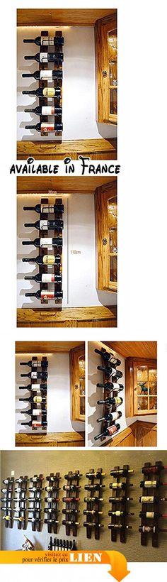ZWZT Mode en bois casier à vin casier à vin de porte-gobelet de vin