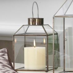 Add romantic ambiance to the bedroom with the Brittan Lantern from the House of Earnest event #jossandmain