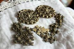 Clasps and jewelry