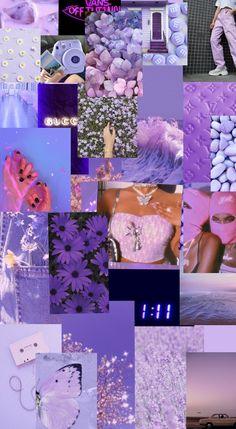 aesthetic purple wallpaper