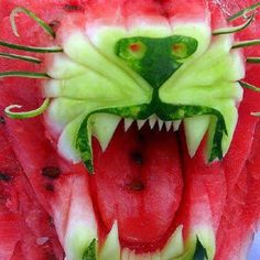 Best. Watermelon. Sculpture. Ever.