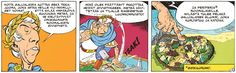 Asterix - Jumaltenrannan nousu ja tuho. #sarjakuva #sarjis #caesar #gallia #egmont