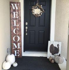 Huge Oversized Welcome or Believe Front Door Front by GetSwank