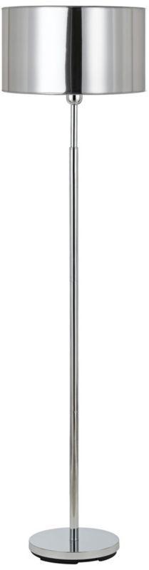 Cameron Chrome Metal 59-inch-H Floor Lamp -