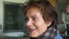 Die Künstlerin und Professorin Nanne Meyer zu Gast bei Deutschlandradio Kultur. (Deutschlandradio - Andreas Buron)