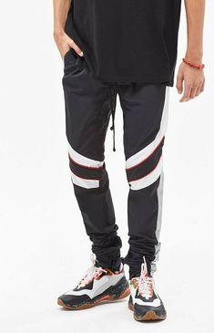 9395de8b29f1 PacSun Drop Skinny Motocross Nylon Black Pants by PacSun