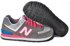 Los zapatos retro NewBalance de las mujeres auténticas 2013 zapatillas WL574HGP movimiento de las mujeres los zapatos para correr