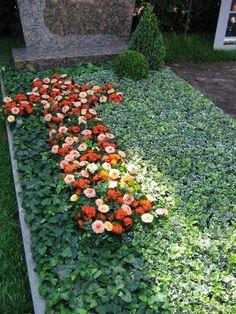 Grabgestaltung Ideen. Grabbepflanzung. Fb gaertner+florist