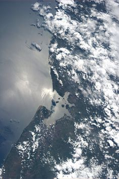 El Salvador, Honduras, Nicaragua.  KN on board ISS, from space. #Photography #Space #ISS