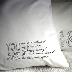 All I Dream About Pillowcase, 15€, now featured on Fab.