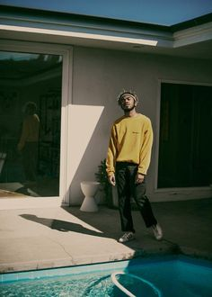 "A product of the Texas suburbs, and born of the internet, Kevin Abstract sheds the tough, ""cool"" posturing of hip-hop in favor of frankness and sincerity. The refreshingly unironic 20-year-old, né Ian Simpson, started off posting tracks to MySpace in middle school, and chose his name for a simple reason. ""I thought this kid was really cool when I was twelve, his name was Kevin,"" he recalls. ""Abstract—I wanted to describe my music based on the abstract. It's such a 12-year-old name, but then…"