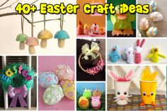 40+ Easter craft ideas for my work clients