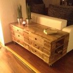 Furniture and more made out of Euro Paletts