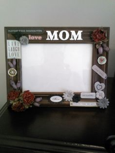 2nd photo mothers day frame design