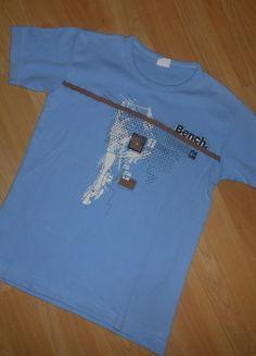 Kaufe meinen Artikel bei #Mamikreisel http://www.mamikreisel.de/kleidung-fur-jungs/kurzarmelige-t-shirts/30276761-t-shirt-gr-152-bench-guter-zustand