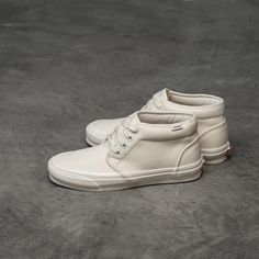 Vans Chukka Vans Slip On, Rubber Shoes, Classic White, Abs, Waffle, Sneakers, Leather, Flag, Canvas