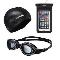 summer kit include swim cap,swim goggles waterproof case,just cost $19.99
