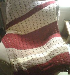 Ravelry: Fast and Easy Light & Lacy Afghan pattern by Mainstays
