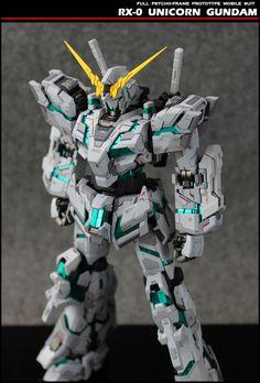 GUNDAM GUY: GK Unicorn Gundam 2.0 - Painted Build