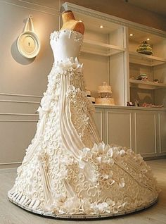 Some may say that the big day is all about the bride - why not have your own cake!