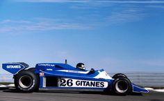 low rider …Jacques Laffite, Gitanes Ligier-Matra JS9, 1978 US Grand Prix, Watkins Glen