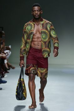 Esnoko Fall/Winter 2016 - South Africa Fashion Week | Male Fashion Trends