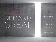 Sony celebrará un evento el 9 de octubre - http://www.esmandau.com/163833/sony-celebrara-un-evento-el-9-de-octubre/