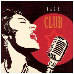 Jazz Club Art Print