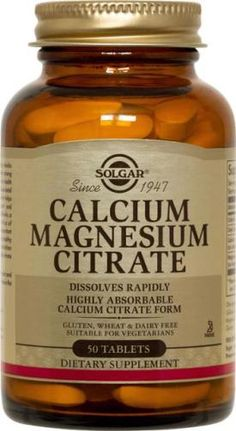 Calcium Magnesium Citrate Tablets Solgar Vitamins, Minerals, and Herbs. For those wonderful roles that require ZERO dairy intake whatsoever