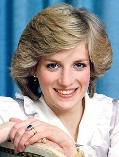 Princess Diana's layered variation of the pageboy cut