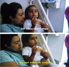 Haha Kourtney and Mason after Penelope is born