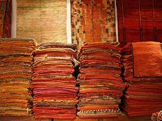 resultado de imagen para embroidery rug marrakech morocco