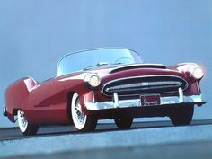 1954 Plymouth Belmont Concept Car designed by Virgil Exner, originally painted Azure Blue
