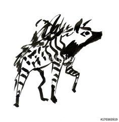 Картинки по запросу дикие животные африки рисунки тушью