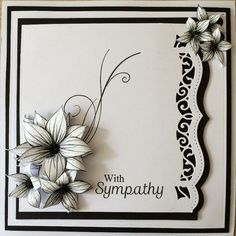 Honey Doo Crafts Acrylic Stamps - Sample Gallery: