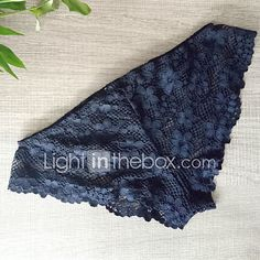 fb582e28f11 Women s Sexy Lace Solid Ultra Sexy Panties Polyester Lace 2017 - £6.03  Gears
