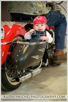 MOM WE NEED TO DO THIS W/ YOUR BIKE W/ MINE AND BRANDON'S FIRST KID