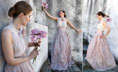 ... Hochzeitskleider, Hochzeitskleider Mit Ausgestelltem Rock und Herbst