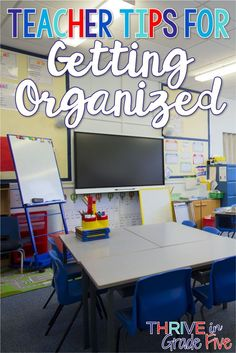 Need teacher organization ideas? It's all here for you! In this post, you'll find out how I organize my teacher life, including grades, papers, students' supplies, and more!