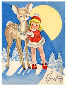 Vintage Children's Greetings