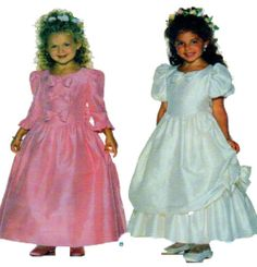 Flower Girl Dress Sewing Pattern Butterick by FindCraftyPatterns, $12.00
