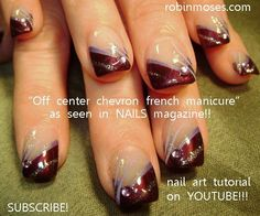 french manicure nail designs | ... french nail art design ...