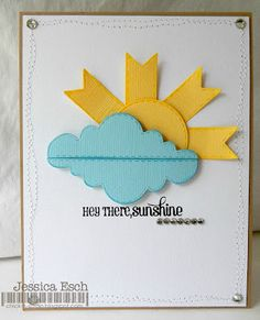 My Creative Time - clever way to make a sun!