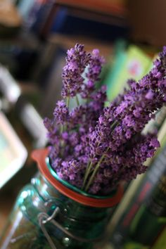 Home is: bunches of sweet lavender