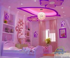 If i had a little girl i would totally make this her room