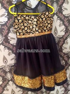 Black Kids Frock | Indian Dresses